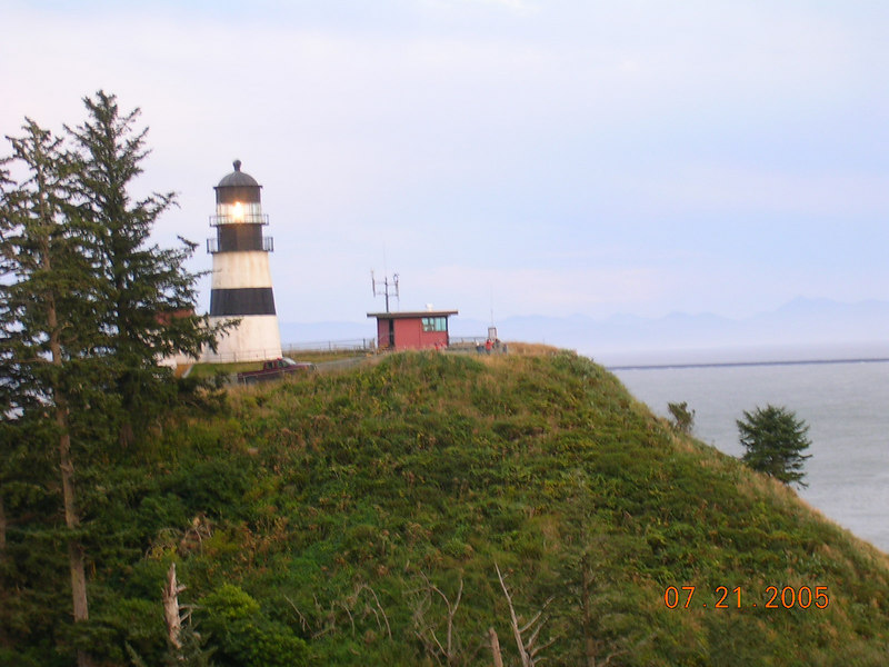 From there I headed to Cape Disappointment, where there's a real lighthouse.