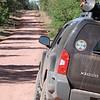 On Schnebly Hill Road, headed towards Sedona, Arizona.