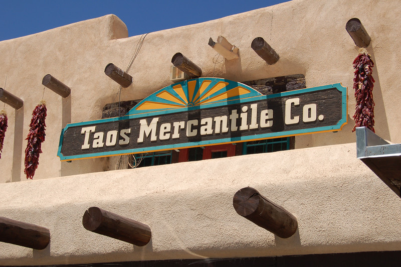 The Taos Shopping Plaza, Taos, NM.