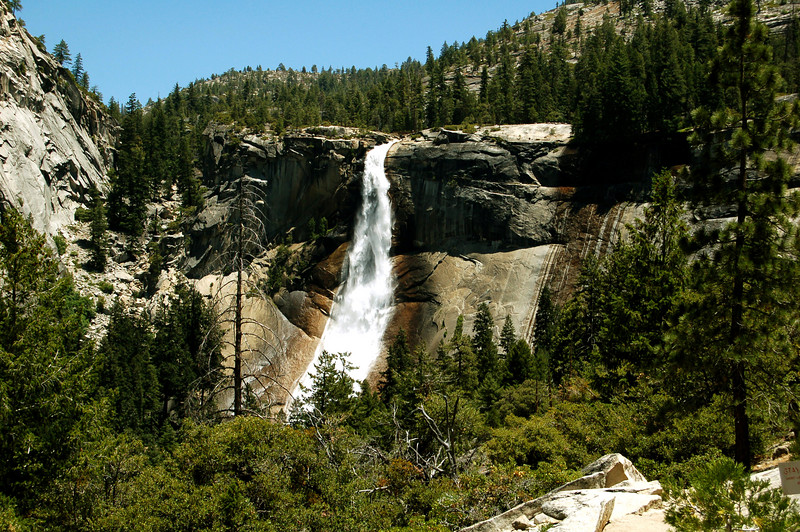 Nevada Falls, Yosemite National Park, California.