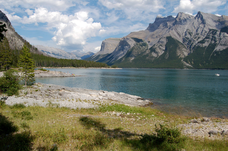 Another beautiful lake in Banff National Park, Canada.