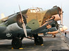 Junkers Ju-52 tri-motor transport.