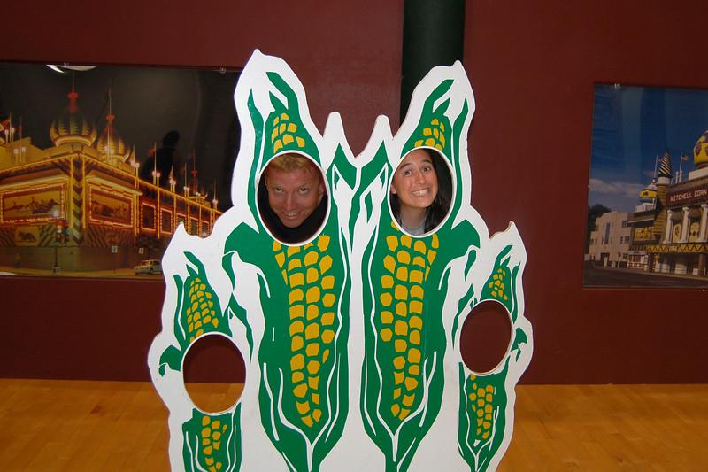 At the Corn Palace, Mitchell, South Dakota.
