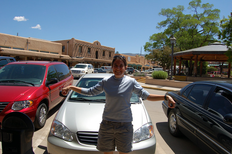 Michelle came away from the Taos Shopping Plaza empty handed.