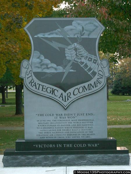 Strategic Air Command monument