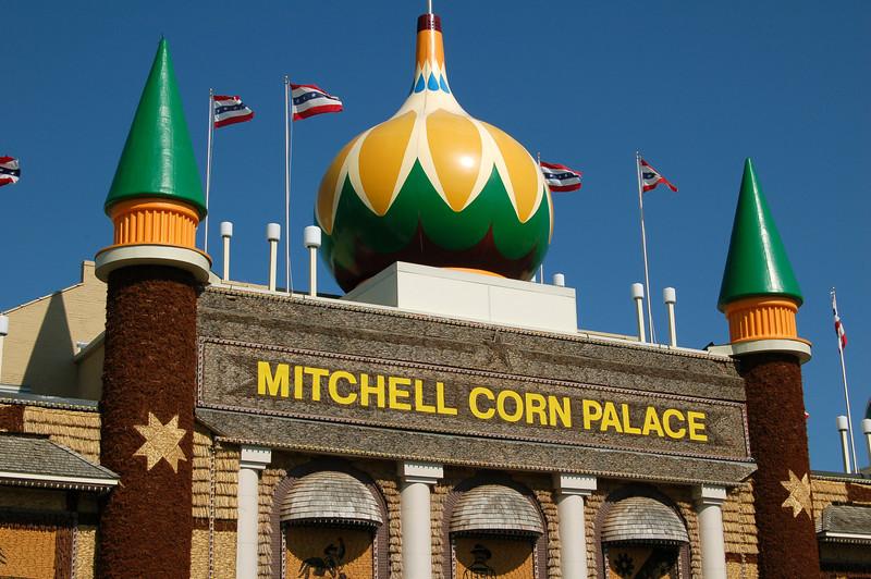 The Corn Palace, Mitchell, South Dakota.