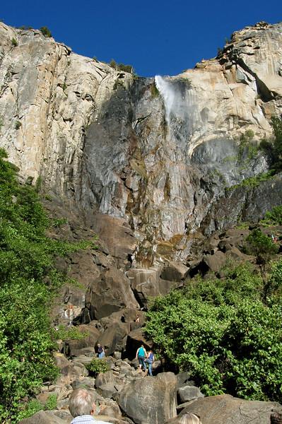 Brideveil Falls, Yosemite National Park, California.