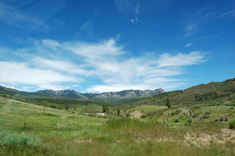 Somewhere on the way to Durango, CO...