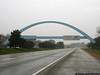 Leaving Ohio, entering Indiana on I-70