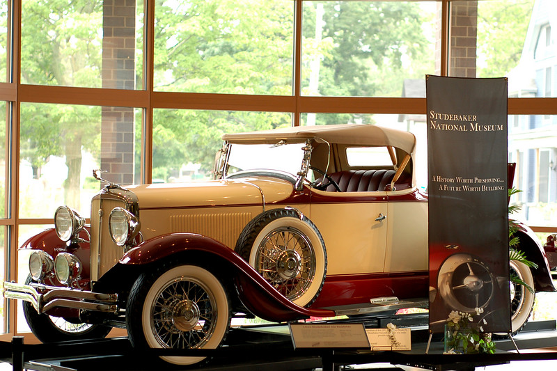 At the Studebaker Museum, South Bend, IN.
