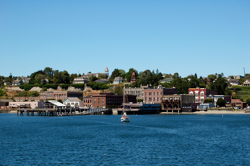Port Townsend, WA, as seen from the Port Townsend - Keystone ferry.