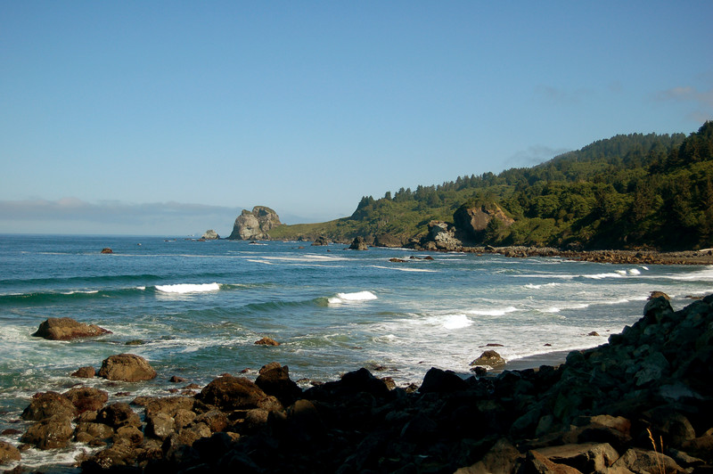 The Oregon Coast, OR.