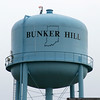 Water tower at Bunker Hill, IN
