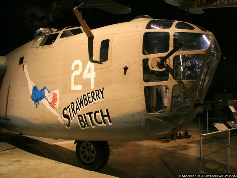 WW II B-24 Liberator bomber