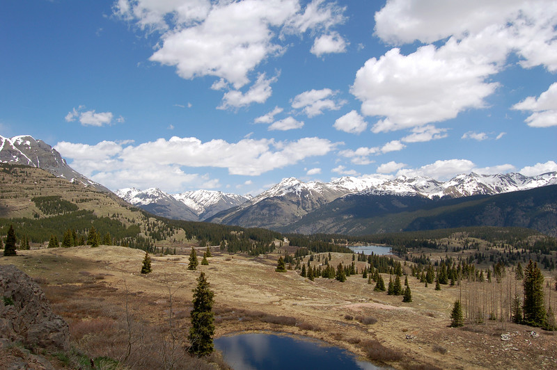 Molas Pass, on Rt 550, CO.