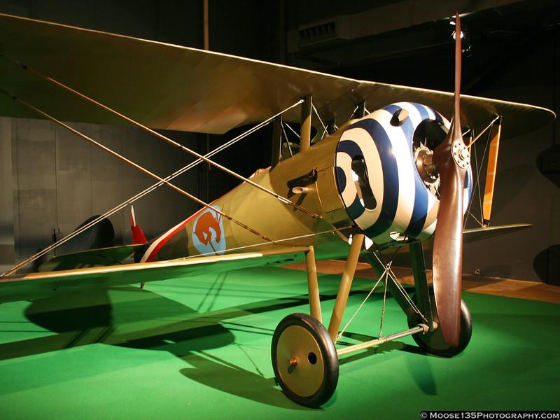 Neiport 17 flown by American pilots in World War I