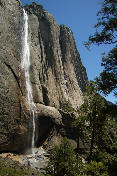 Upper Yosemite Falls, Yosemite National Park, CA.