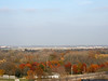 A view of Wright-Patterson AFB from the Wright Brothers memorial.