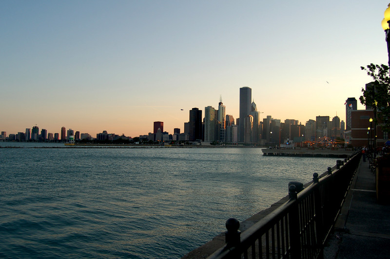 Chicago, from the Navy Pier.