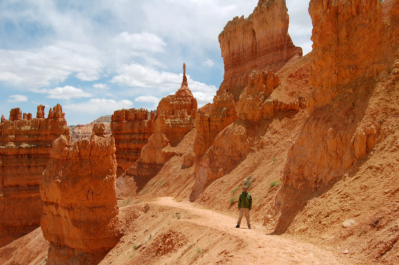 Rod on the Navajo Trail in Bryce Canyon National Park, UT.