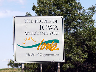 Welcome to Iowa.
