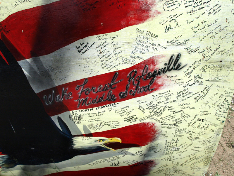 At the United Flight 93 National Memorial, July 6, 2008.