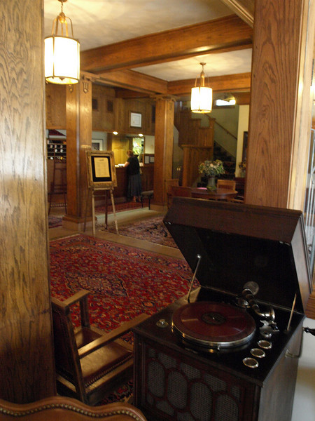 Lobby, Blackhawk Hotel, Cedar Falls, Iowa, July 3, 2008.