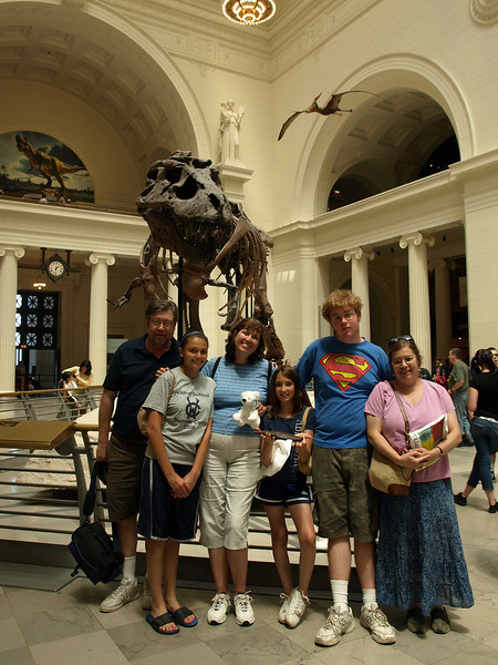 Cousins, Field Museum, Chicago, June 30, 2008.