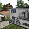 Streets and buildings around the Lincoln home contain exhibits about the neighborhood as it appeared in 1860.
