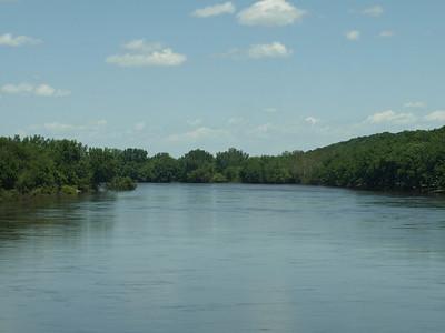 High water on the Cedar River.