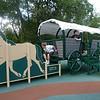 Visitor Center playground, Fort Necessity.