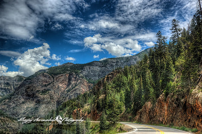 Million Dollar Highway, Colorado, July 27, 2010