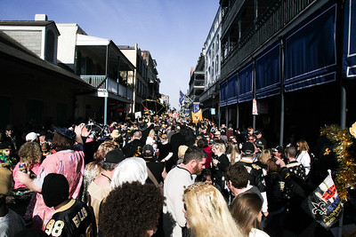Who Dat!?! - Pre-Super Bowl, New Orleans, LA
