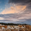 Moon Bryce Canyon