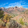 Zion Watchman Trail View