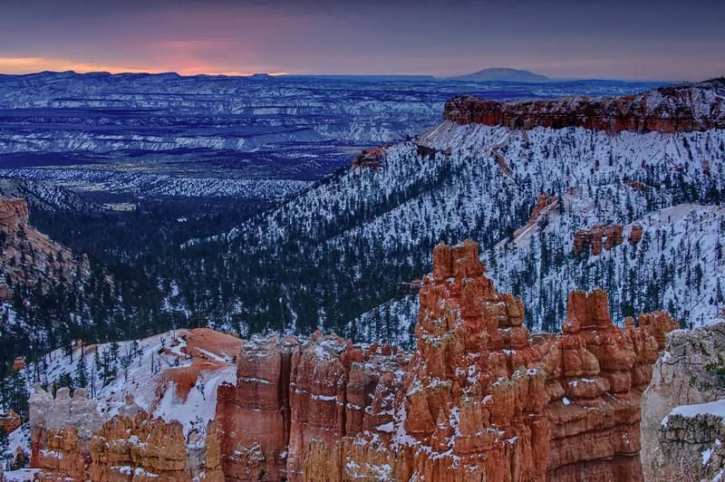 Sunrise Bryce Canyon
