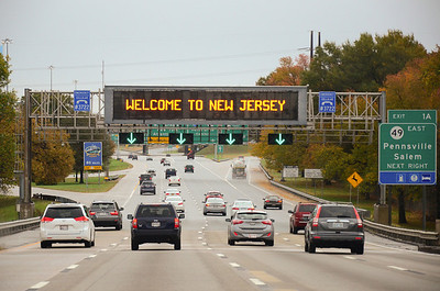 Looks like the Jersey Turnpike to me....