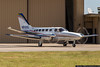 Cessna 441 Conquest II owned by Rico Aviation, a charter air ambulance operator based at the Rick Husband Amarillo International Airport