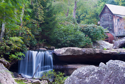 Glade Creek Mill -9212