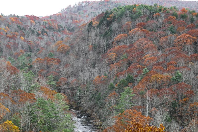 I77 rest stop/scenic overlook, West Virginia