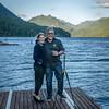 Calla & Eric at Lake Cresent