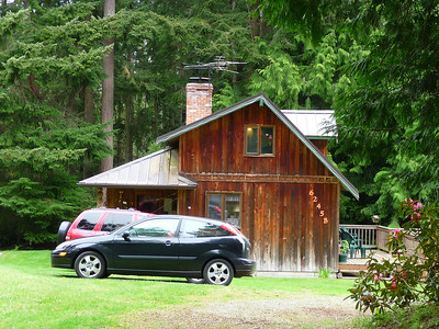 Kay's house, Whidbey Is., WA.