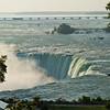 Top view of Niagara Falls - Canadian side