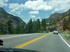 En route from Durango to Ouray, CO.