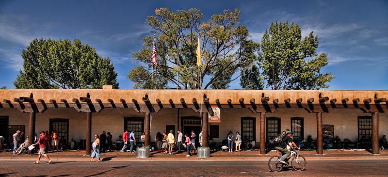 Governors Palace, Santa Fe Plaza