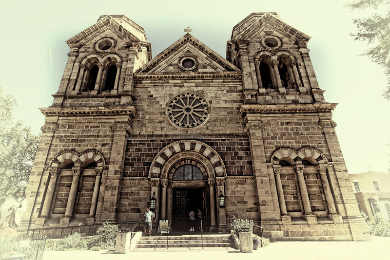 The Catherdal Basilica of St. Francis of Assisi, Sante Fe, New Mexico
