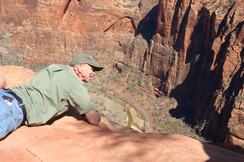 Over the Edge<br /> Fourteen Hundred Feet Down