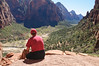 Over Looking Zion Canyon