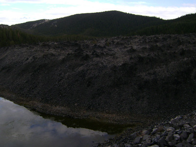 Big Obsidian Flow, Newberry Crater, Near Bend