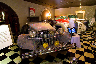 Some of Liberace's cars